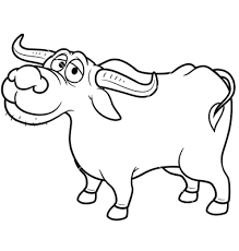 Image result for buffalo clipart black and white.