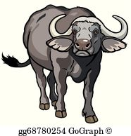 Buffalo Clip Art.