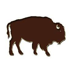 buffalo outline.