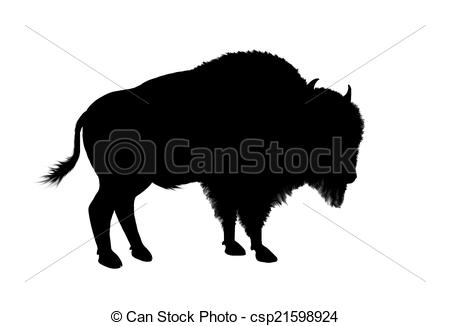 Buffalo Clipart Outline Clipground
