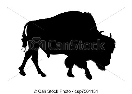 Buffalo Clipart Outline 20 Free Cliparts Download Images