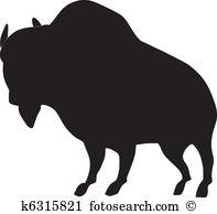 African buffalo Clip Art EPS Images. 296 african buffalo clipart.