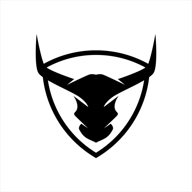 Buffalo Abstract Logo, Bull, Head, Animal PNG and Vector with.