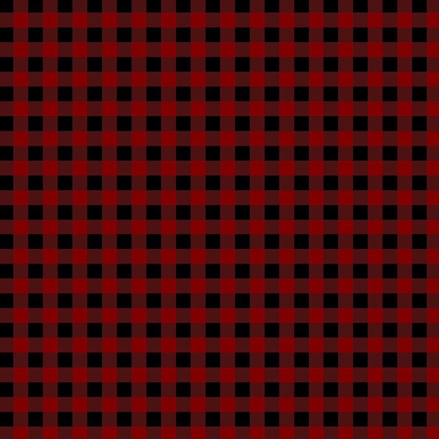 Red and black buffalo check plaid texture pattern. in 2019.