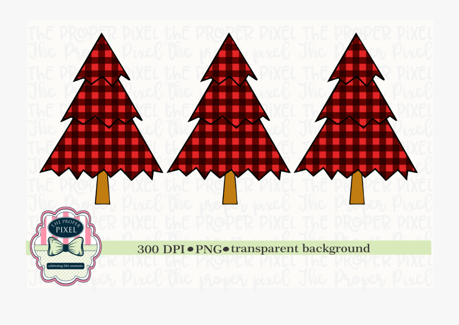 Tree Design Buffalo Plaid Christmas Sublimation Printable.