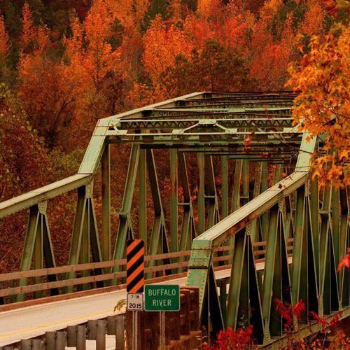 Buffalo River Bridge, Ark..
