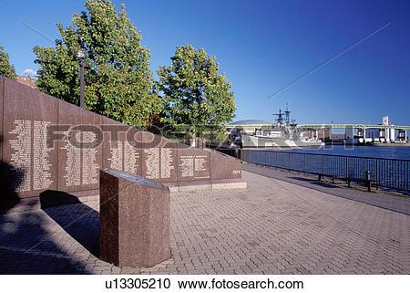 Stock Photography of Buffalo, New York, NY, Buffalo River, Naval.