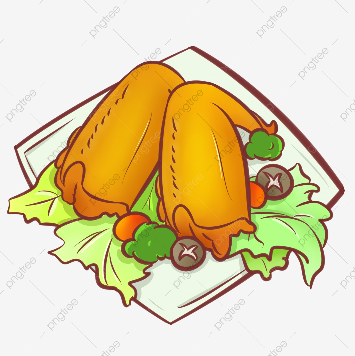 A Grilled Chicken Wings, Chicken Clipart, Wings Clipart, Grilled.
