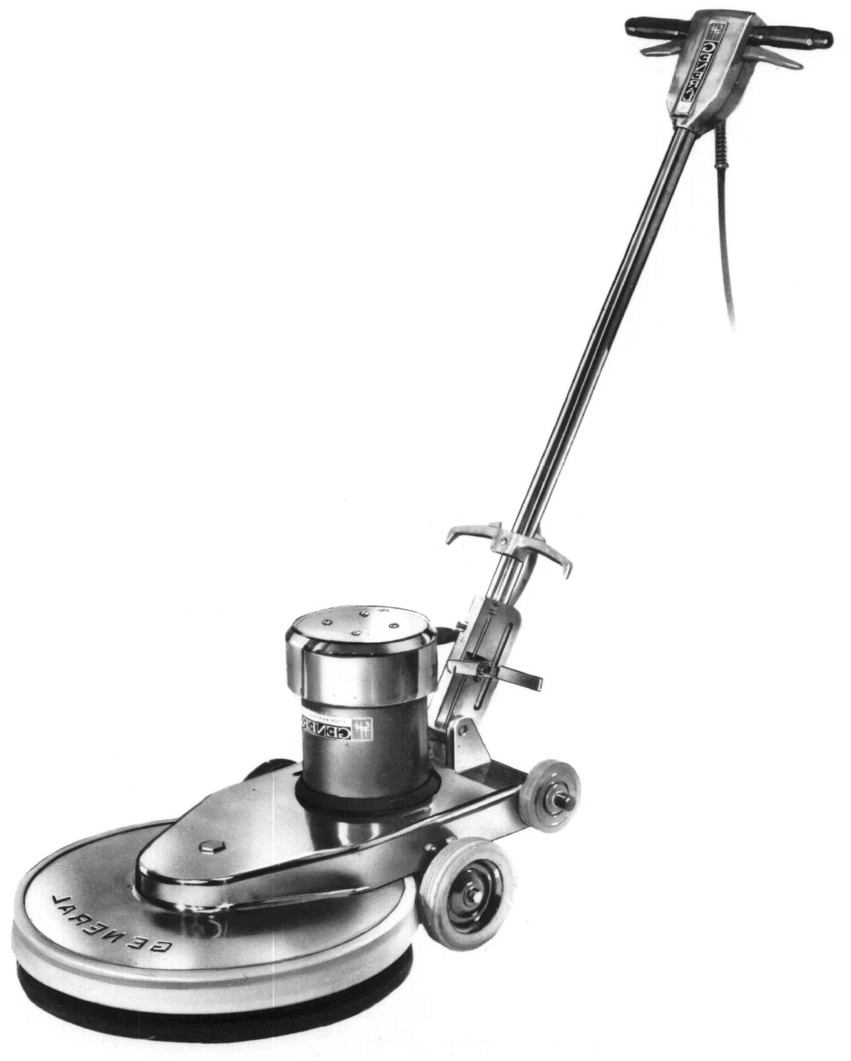Floor Scrubber Clipart.
