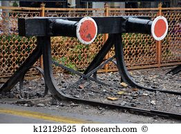 Buffer stop Images and Stock Photos. 80 buffer stop photography.