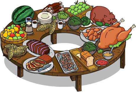 Download Free png Buffet PNG Clipart.