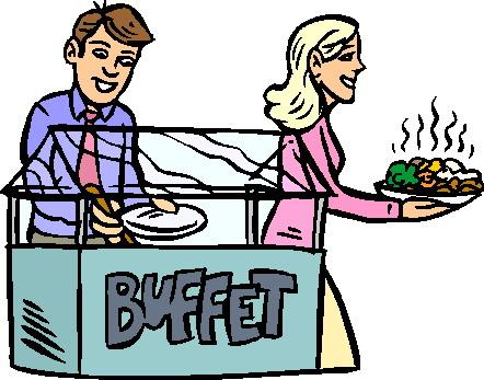 Buffet Clipart.