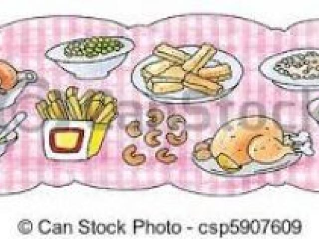 Buffet Table Cliparts 12.