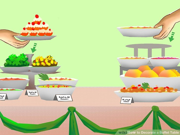 Table clipart buffet for free download and use images in.