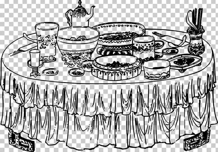 Buffet Table Breakfast PNG, Clipart, Artwork, Black And White.