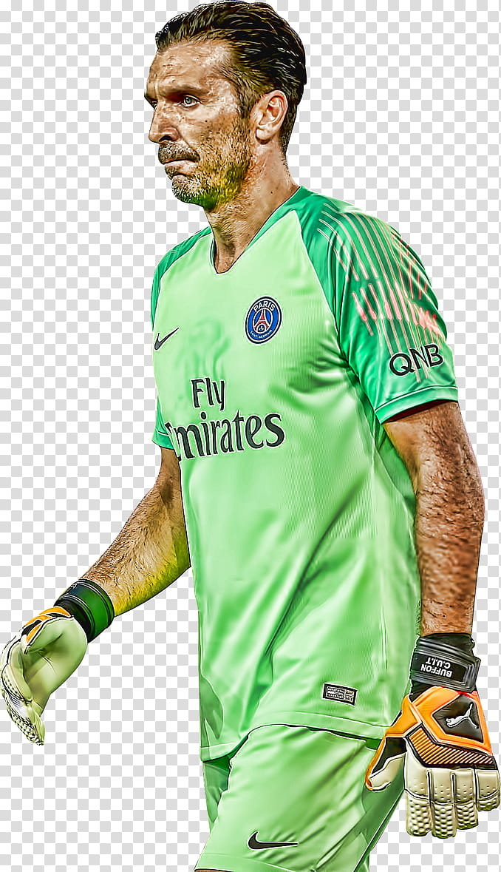 Gianluigi Buffon Topaz transparent background PNG clipart.