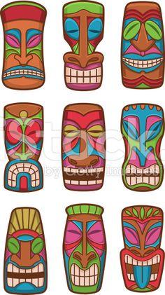 Hawaiian Clip Art Background.
