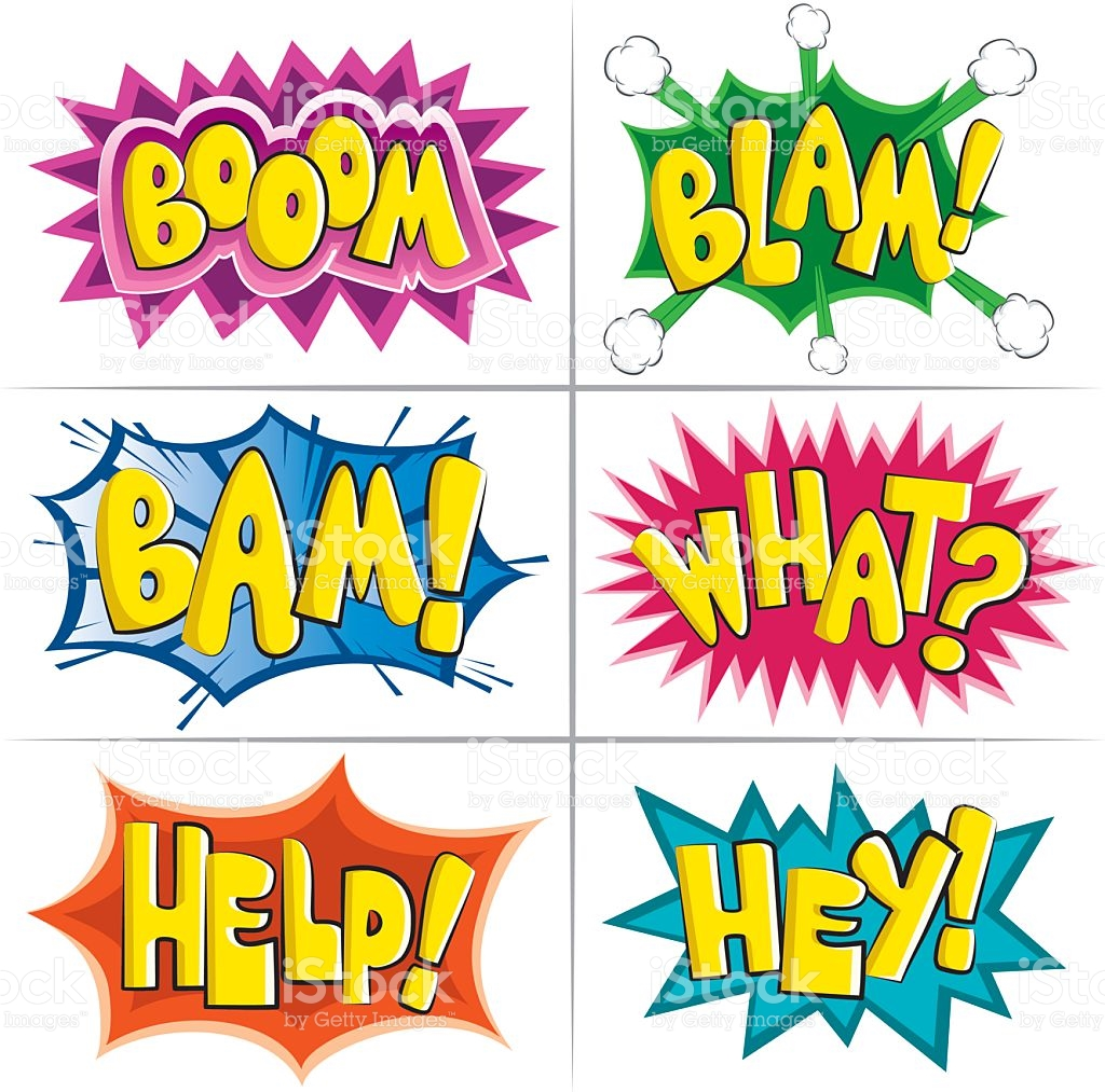 Cartoon Effects For The Buffs stock vector art 154271803.
