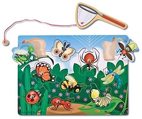Amazon.com: Melissa & Doug Magnetic Bug Catching Game & 1.