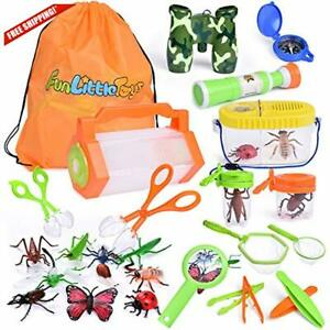 Details about 27 PCs Bug Catcher Kits for Kids, Outdoor Explorer Kit with  Bug Containers, Butt.