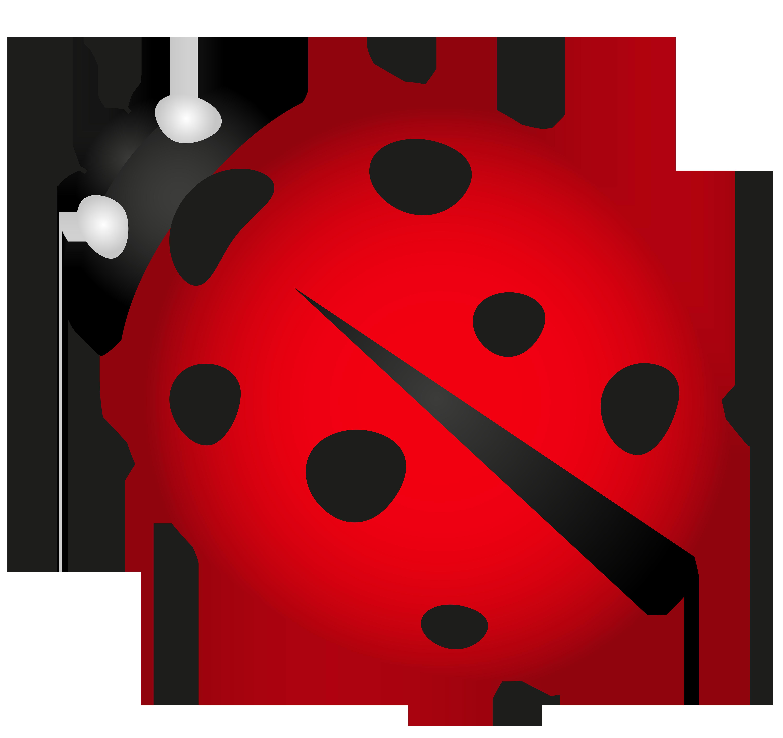 Lady Bug Transparent PNG Clip Art Image.