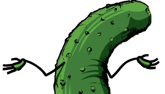 What's the big dill?.