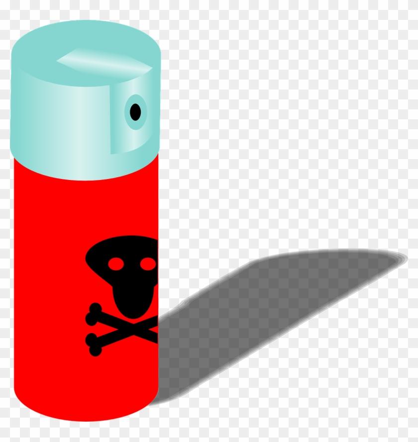 Toxic Clipart Spray.