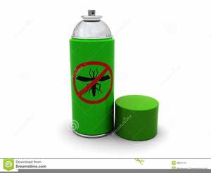 Bug Spray Clipart.