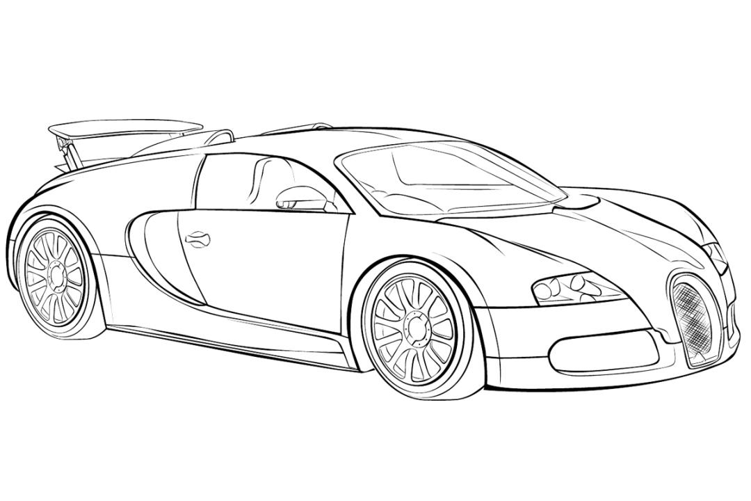 Bugatti clipart.