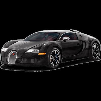 Bugatti Black transparent PNG.