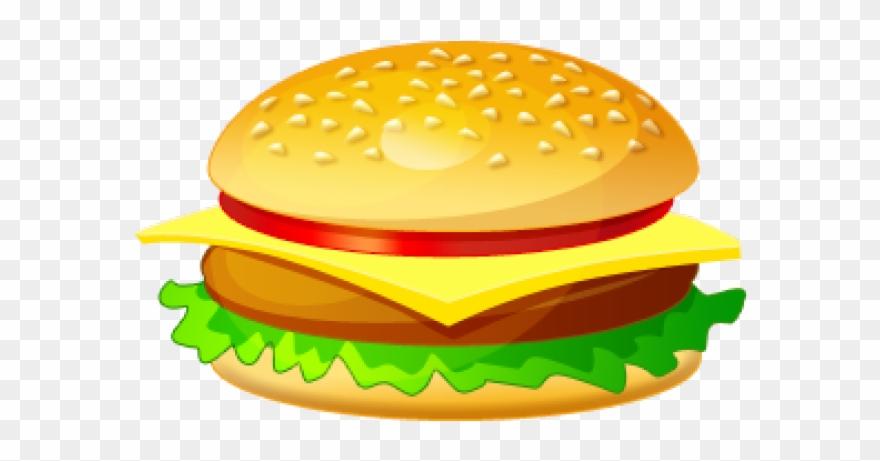 Healthy Food Clipart Burger.