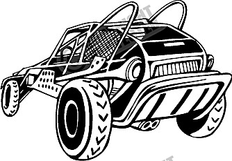 Buggy and Bike Vector Clipart Collection Download.