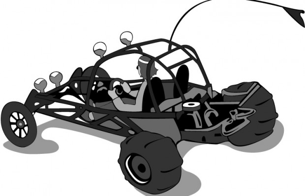 Clipart sand buggy color.