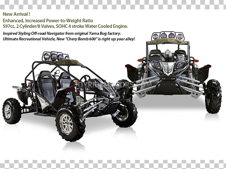 Car Dune buggy Motorcycle Go.