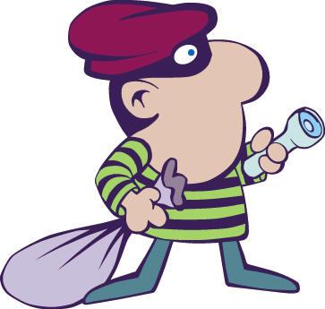 Burglary Clipart.