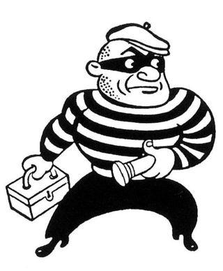 Thief clipart #7