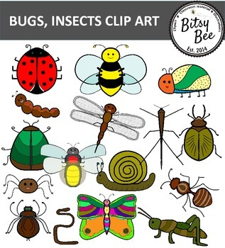BUGS, INSECTS CLIP ART.