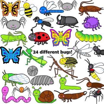 Bugs Clip Art.