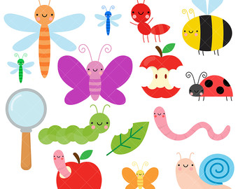 Insect clipart.