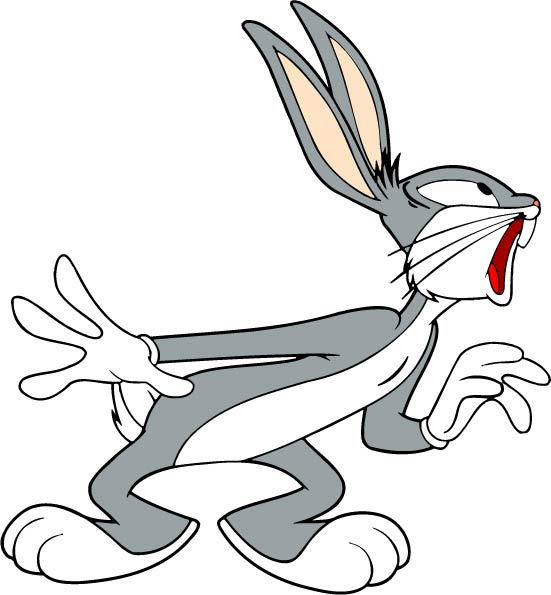 Collection of Bugs bunny clipart.