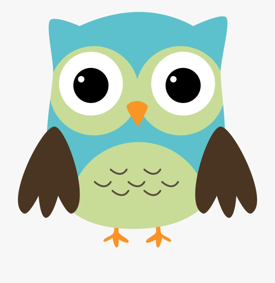 Baby Owl Clip Art.
