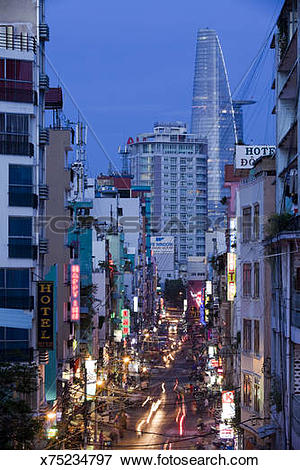 Picture of Bui Vien Street Ho Chi Minh City x75234797.