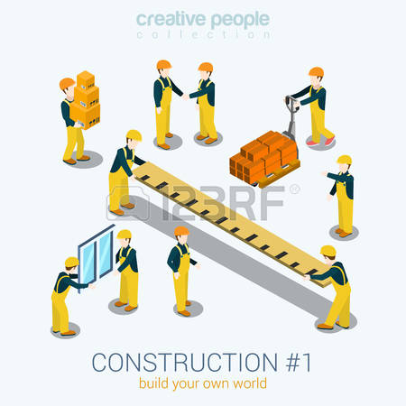 47,049 Construction Worker Stock Vector Illustration And Royalty.