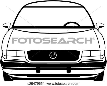 Clipart of , auto, automobile, buick, car, u29479654.