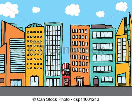 Small Building Clipart.