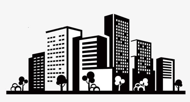 Building City Icons PNG, Clipart, Black, Building, Building.