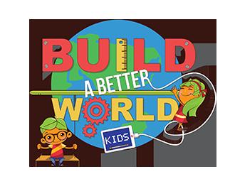 BUILD A BETTER WORLD #70642.