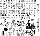 372 build a family clipart.