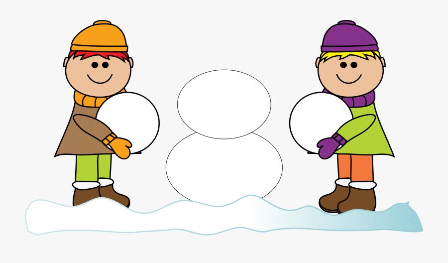 Clip Art Make A Snowman Clipart.