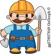 Builder Clip Art.